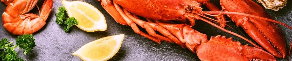 Fruits de mer de pêcheries durables